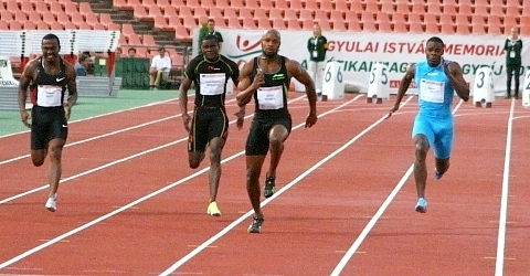 Asafa Powell a 2011-es versenyen/ml