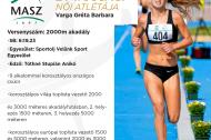 Az Év ifjúsági női atlétája: Varga Gréta Barbara