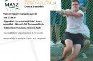 Az Év junior férfi atlétája: Doma Benedek