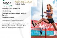Az Év junior női atlétája: Molnár Janka