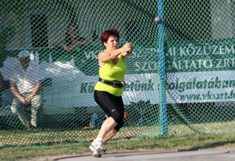Benes Magdolna a Balaton Bajnokságon 2012-ben (Fotó: Benes Magdolna képe)