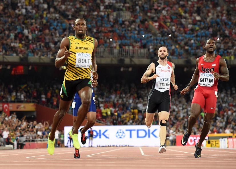 Usain Bolt és Justin Gatlin