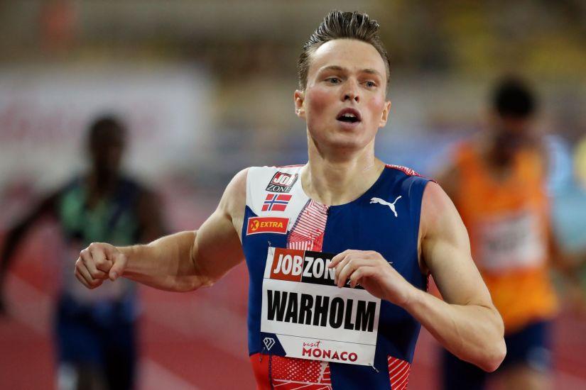 Kartsen Warholm Monacóban (forrás: https://www.aftenbladet.no/)