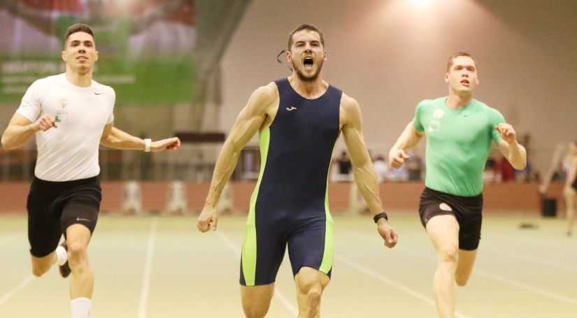 Boros Bence, 60 méteres síkfutás, Magyar Bajnokság