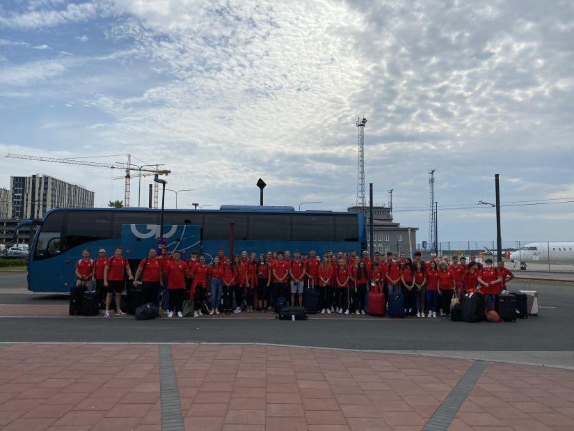 A magyar U20-as atléta-válogatott