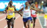 Mo Farah zsinórban harmadik világbajnoki aranyérmét nyerte 10,000 méteren a londoni vb-n. (Fotó: athleticsweekly.com)