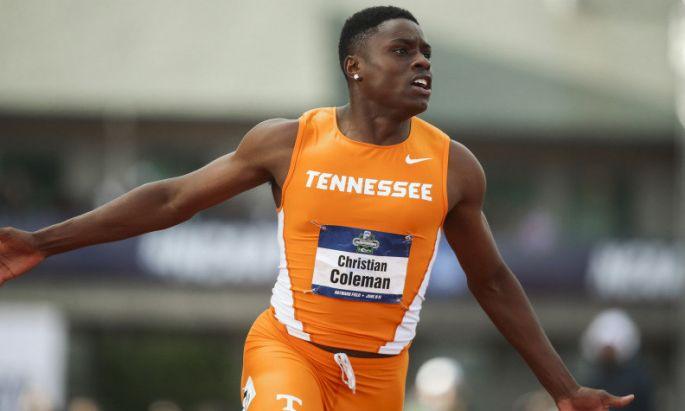 Coleman, tavalyi legjobbját 100 méteren (9.82) az egyetemi bajnokság döntőjében futotta (Fotó: iaaf.org)
